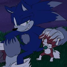 Werehog with Chip and his yummy hot chocolate~ yaaaay Chip and Sonic (C) Sega and Sonic Team Artwork (C) ME . Sonic The Hedgehog, Shadow The Hedgehog, Sonic Fan Art, The Sonic, Sonic Fan Characters, Fictional Characters, Animal Pictures, Cool Pictures, Dragon Ball