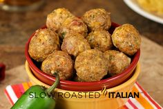 Bacon jalepeno poppers -Top 10 All Time Favorite Meatball Recipes