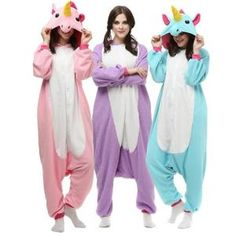 Déguisement - Panoplie Kigurumi Hommes Femmes Licorne Pyjamas Combinai...
