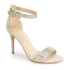 "Enzo Angiolini 'Manna' Ankle Strap Sandal, 4"" heel ($65) ❤ liked on Polyvore"