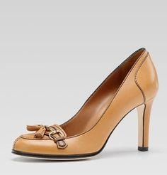 NIB GUCCI Womens Dress Heels Pumps EMILY Shoes Horse Bit 40 10 Bag $800