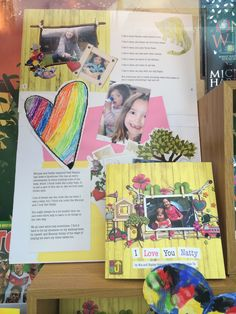 Window display in Waterstones. You can order I Love You Natty into any Waterstones in the UK