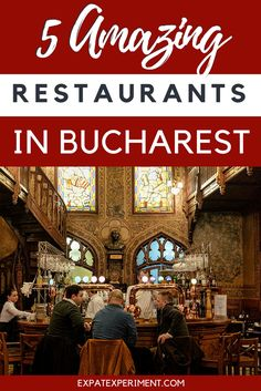 Wondering where you should eat in Bucharest Romania? Here are 5 amazing restaurants you should check out when you visit- The Expat Experiement. Europe Travel Guide, Travel Guides, Travel Destinations, Budget Travel, Romania Travel, Bucharest Romania, Eastern Europe, Coffee Travel, European Travel