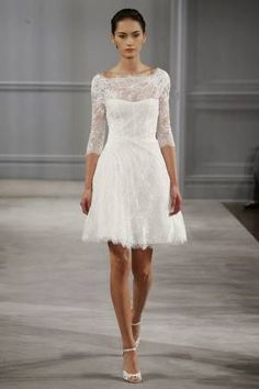 Simple civil ceremony courthouse wedding dress | Banquet Dinners ...
