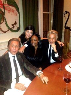 The Real Thing - Giovanna Battaglia with Valentino, Pat McGrath, and Giancarlo Giammetti