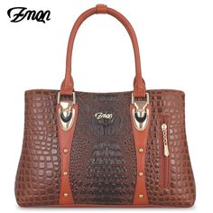 Women s Handbag 2018 Women Leather Handbags Bags For Women Bags Designer  Luxury Handbags Crocodile Lady Hand 7f5d4fa573151