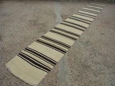 16'1'' X 2'3'' NARROW RUNNERExtra Long Rug RunnerInterior Design Kilim by zkrugs