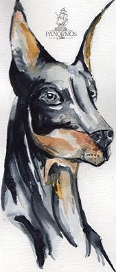 Water Colour Dog #tattoo #tattoos #tattoosofinstagram #model #tattoomodel #tattoolife #tattooed #black #ink #inked #design #tattoodesign #work #panormostattoo #follow #f4f #followme #followforfollow #follow4follow #teamfollowback #followher