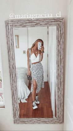 Trendy Summer Outfits, Basic Outfits, Summer Fashion Outfits, Mode Outfits, Cute Casual Outfits, Skirt Outfits, New Outfits, Pretty Outfits, Spring Outfits