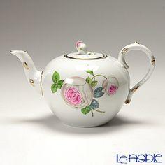 Meissen Tea Pot Vintage Crockery, Vintage China, Vintage Tea, Chocolate Pots, Chocolate Coffee, Tea Cup Saucer, Tea Cups, Pink Teapot, Dresden Porcelain