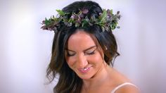 Boho bridal perfection! 2016!!! Natural ivy green crown! This is so hot! https://www.etsy.com/ca/listing/264182302/ivy-natural-flower-crown-enchanting-ivy