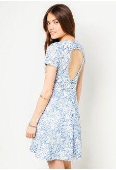 c5cf39b23d Blue Rose Jacquard Dress Jacquard Dress