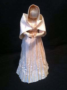 Pioneer Lady replica of 1800's doll on by MariesCornHuskDolls