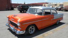 Lot F169: 1955 Chevrolet Bel Air #WhereTheCarsAre #LA #California #Mecum #Collector #Car #Auction #Chevrolet #BelAir #1950s #Style #Vintage #Supercharged