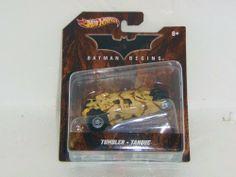 Hot Wheels Batman Begins Tumbler 1:50 Diecast Model by Mattel. $4.00. 2012 Batman Series Vehicle. Hot Wheels 1:50 Scale. Diecast model 1:50 scale  Batman Begins Tumbler by Mattel