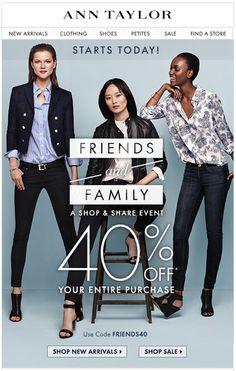 email marketing: fashion