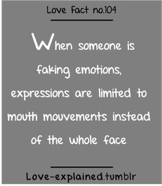 Love facts (emotions,expressions,feelings,fake,liar,body language,love,facts)