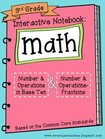 Create●Teach●Share: 3rd Grade Interactive Math Notebook - 1st Edition
