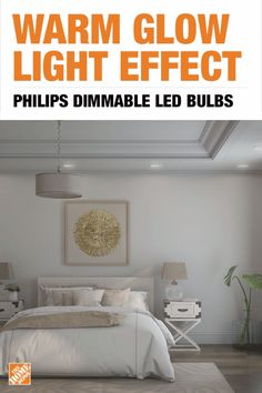 Lower your energy bills while also creating your ideal lighting ambiance. This dimmable LED bulb from Philips creates a warm glow as you dim, allowing you to transition from everyday functional lighting to inviting warm lighting that's perfect for entertaining. Click to learn more about this energy-efficient bulb and start using this innovative technology to get soft light and smooth dimming in your home.
