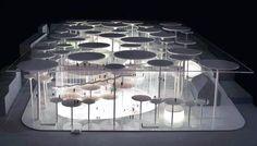 andrea branzi und + P / A: maribor gallery andrea branzi - Architektur Architecture Portfolio, Concept Architecture, Amazing Architecture, Contemporary Architecture, Interior Architecture, Architecture Diagrams, Building Architecture, Futuristic Architecture, Planer Layout
