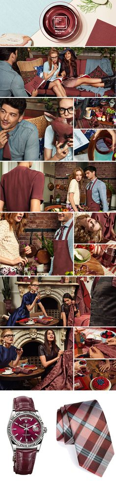 PANTONE Color of the year 2015  Marsala 18-1438 2015 Trends, Color Of The Year, Marsala, Pantone Color, Design, Packaging, Trends, Marsala Wine