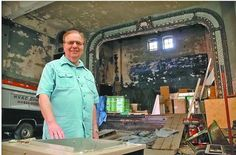 Altoona man researches unknown facts about historic local theaters, compiles book - by Beth Ann Downey, The Altoona Mirror