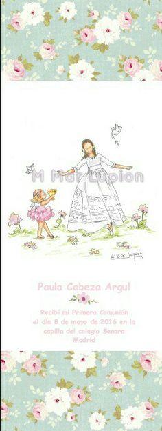 #Marcapaginas de #comunion Blog, Illustrations, Blogging