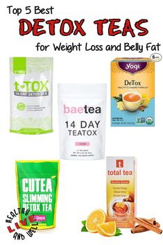 We've gathered a list of the best detox teas available on the market. All you need to do is select the right tea for you! #lhealthyandwell #detox #teas #weightloss
