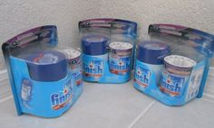 Lot of 3 Finish Powerball Quantumatic Automatic Detergent Dispenser System  #Finish
