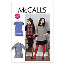 Buy McCall's Children's Dress Sewing Pattern, 6786 Online at johnlewis.com