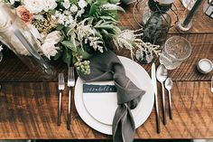 Industrial Meets Modern Rustic Wedding Inspiration With a Pinch of Nautical