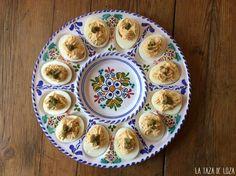 La Taza de Loza: 3 Recetas de Huevos Rellenos