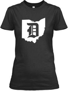 Ohio for Detroit shirt. Love!