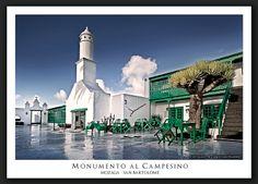Monumento al Campesino, Mozaga, San Bartolomé, Lanzarote.