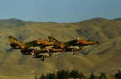 SHOTS TAKEN OVER THE YEARS OF SKYHAWKS AT RNZAF BASE WOODBURNE  .These are a bit grainy - they are taken from the video