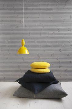 Baseco | Fjällets färger. Kollekektionen heter Fjällfora och färgen Renlav | Grey planed board |