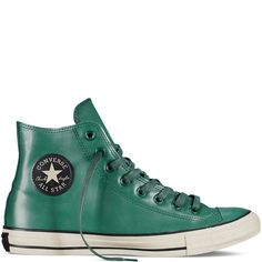 Chuck Taylor All Star Rubber gloom green #weatherproof
