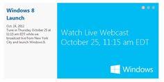 Microsoft trasmetterà evento di lancio di Windows 8