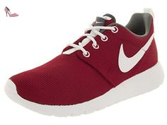 Nike Rosherun (GS) Laufschuhe gym red-white-dark grey - 36,5 - Chaussures nike (*Partner-Link)