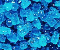 Blue Raspberry Gummy Bears -Sold in 5 lb bags, approx. 140 bears per lb. Blue Wallpaper Iphone, Blue Wallpapers, Aesthetic Iphone Wallpaper, Aesthetic Wallpapers, Light Blue Aesthetic, Blue Aesthetic Pastel, Aesthetic Colors, Photo Bleu, Images Esthétiques