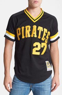 Mitchell & Ness 'Kent Tekulve - Pittsburgh Pirates' Authentic Mesh BP Jersey
