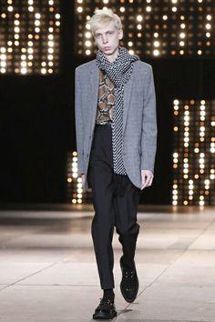 Saint Laurent Menswear Fall Winter 2014 Paris - NOWFASHION