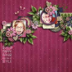 Winter steps 1. template pack by Tinci Designs http://store.gingerscraps.net/Winter-steps-1..html