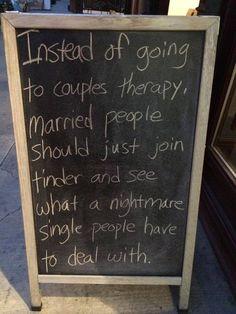Married vs. single
