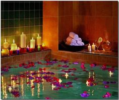 1000 images about romantic bath ideas on pinterest for Bathroom romance photos