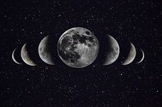 Moon- inspiration for a tattoo - white ink with a little grey shading on the top of my back / bottom of my neck