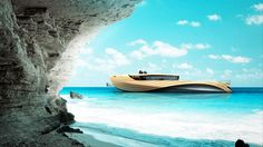 Unreal yacht design from two European Institute of Design students... The motto has officially changed: Do whatever it takes to own that boat