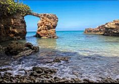 Playa Sucia en Cabo Rojo...I think Cabo Rojo is west coast...I haven't spent too much time there.