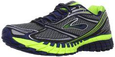 Brooks Men's Ghost 6 Running Shoes, Color: Mdnght/Glxy/Nghtlife/Slvr/Blck, Size: 10.0