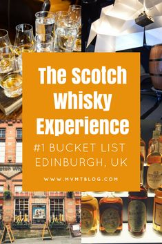 The Scotch Whisky Experience was by far our favorite experience in Edinburgh, UK. For whisky lovers, this is your heaven. For non-whisky lovers, you can still have a great time learning about Scotch whisky while sipping on some non-alcoholic drinks. Click through now to read more or pin for later!
